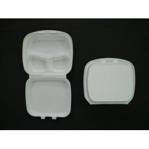 Menu box obiadowy trójdzielny 900 ml – 10 szt.