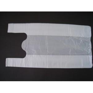 Reklamówka 43x80 cm biała –  100 szt. 12 MIK