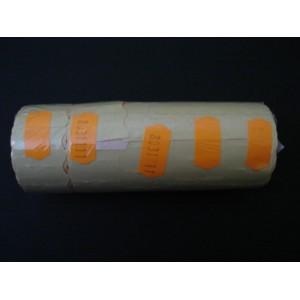 Taśma pojedyncza falista kolor pomarańczowy 26x12 mm – 5 szt.