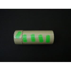 Taśma pojedyncza falista kolor zielony 26x12 mm – 5 szt.