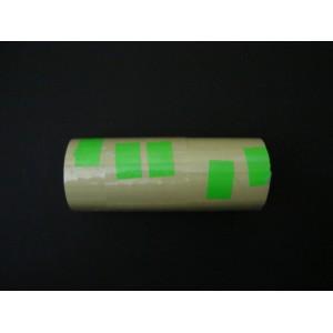 Taśma podwójna prosta kolor zielony 26x16 mm – 5 szt.