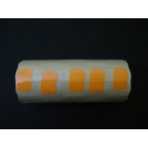 Taśma podwójna falista kolor pomarańczowy 26x16 mm – 5 szt.