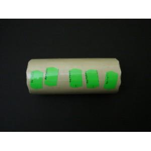 Taśma podwójna falista kolor zielony 26x16 mm – 5 szt.