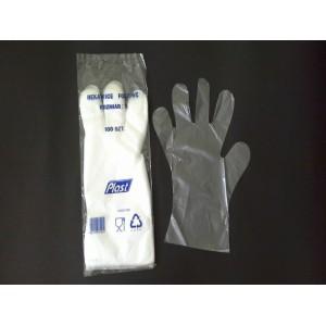 Rękawice foliowe S - 100 szt.