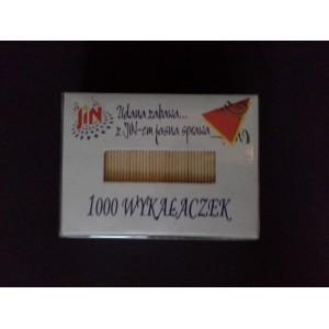 Wykałaczki zapas - 1000 szt.