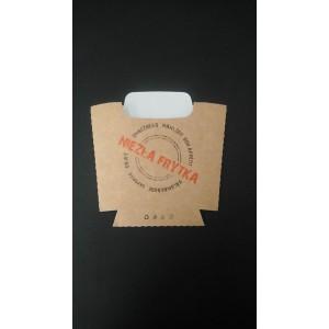 Pudełko frytka certyfikat 100g - 100 szt.