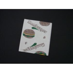 Opakowanie hamburger mały 13x15 cm – 200 szt.