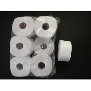 Papier toaletowy biały makulatura ᴓ 19 – 12 szt.